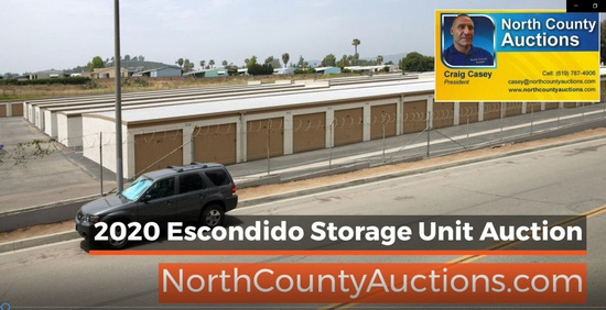 2020 October Escondido Storage Unit Auction