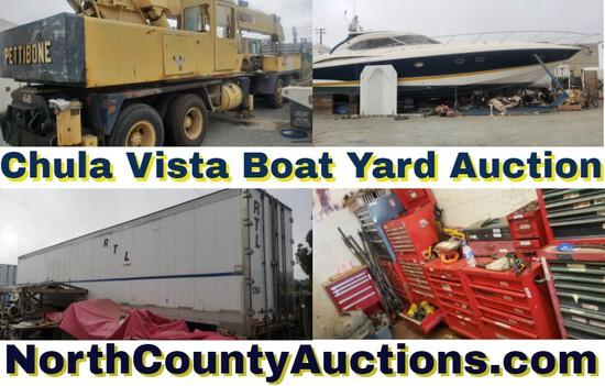 Boat Yard San Diego Tool Auction
