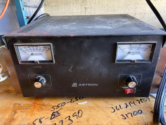 Astron amp tester Tested powers on