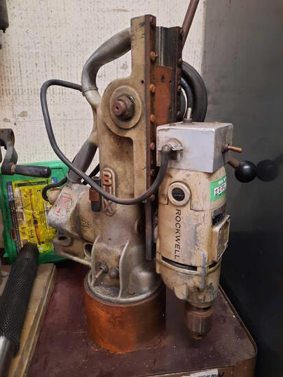 Rockwell Model Mag Magnetic 77767 Drill Press, TR5414