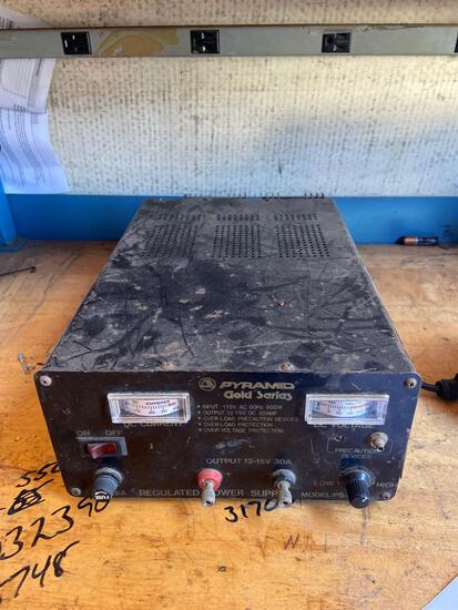 Pyramid gold series regulated power supply TR5141