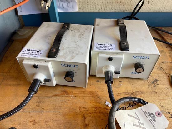 Schott extended lamp lot of 2 TR5141