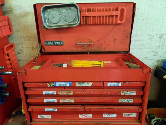 Rempro Toolbox, Top Contents, Steel Wedges, TR5414