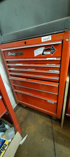Snap On Toolbox 37in Tall, Contents Not Included, TR5414