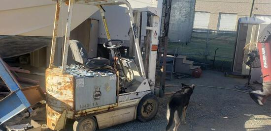 Allis Chalmers E-50S Electric Forklift Non Running 6,570 hrs