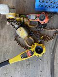 Winches TR5414 CHAINHOISTS 1.5 ton