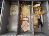 Drawer Contents, Vacuum Pumps, Bottles Caps,TR5414