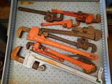 Drawer Contents, Pipe Wrenches, Drop Forged Jaws,TR5414