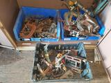 Cabinet Contents Lot of Clamps TR5414