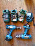 Makita Drills Batteries, Chargers, TR5414
