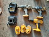 Dewalt Drills, Batteries, Chargers, TR5414