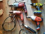 Milwaukee, Black and Decker, Ryobi Drills, TR5414