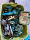 Various Makita tools