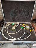 Rexroth Water Line Pressure Gauge in Alluminum Case