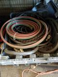 Crate Of Torch Welding Wires Hoses
