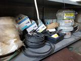 Entire Shelf of Conduit Wire Parts