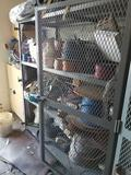 Metal 2 Door 3 Shelf Cage