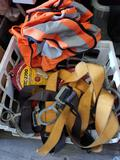 Crate Full of Lifeline Climbing Protection Device