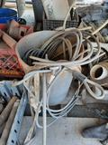 Bucket of Braided Wire Rope, yrd