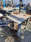 Workbench W/ Heavy Duty Vise Grip Clamp, yrd