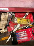 Shelf contents TR5141 Jigsaw blades