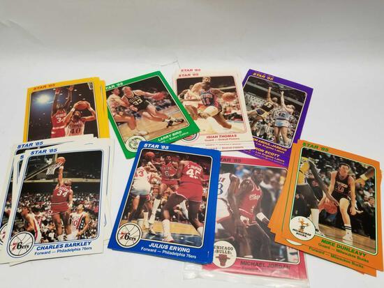 1985 Star 5x7 Cards Jordan Rookie