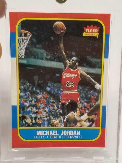 1986 Fleer Premiere Michael Jordan