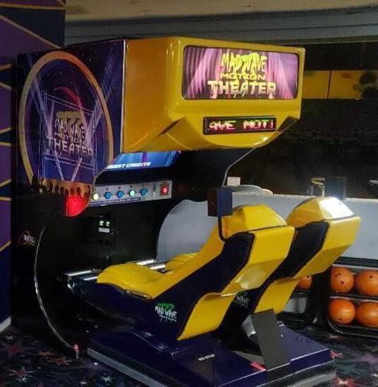 Madwave Motion Theatre Triotech Roller Coaster Simulator