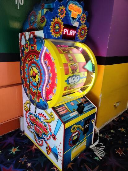 Crank It Ticket Arcade Game by Baytek