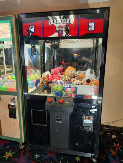 Premier Mission Crane Ticket Arcade Game