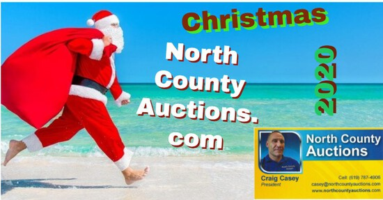 2020 December Christmas Collectors Auction