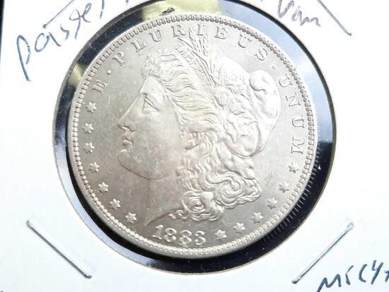 1883-O Gem Morgan Silver Dollar Pastel Toned ddr vam Premium Coin