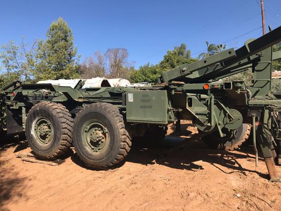 USMC Connex Box Transport Trailer
