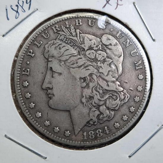 1884 Morgan Silver Dollar 90% Silver