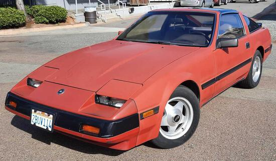 1985 Nissan 300zx T-Top Coupe Japanese Sports Car