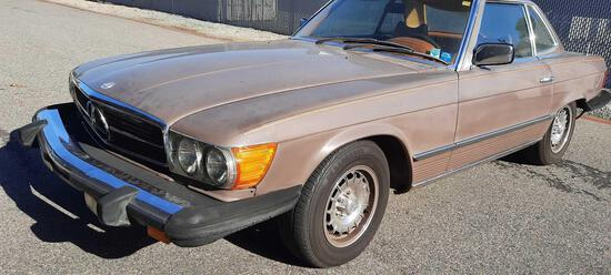 1986 Mercedes Benz 450SL Luxury Coupe