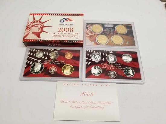 2008 US Mint Silver Proof Set
