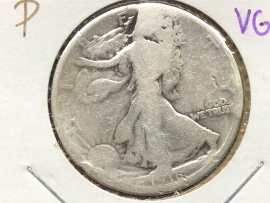 1916-P Standing Liberty Half Dollar