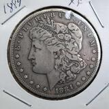 1884 Morgan Silver Dollar 90% Silver