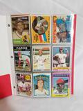 1960s 70s Baseball Cards Signed Jersey Cards