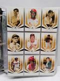 2004 SP Legendary Cuts Baseball Cards in Pages