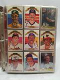 1982 Donruss Baseball Cards in Pages