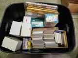 Bin Full of Baseball Football Basketball Hockey Cards