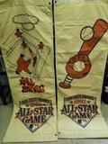 San Diego Padres 1992 All Star Game Banners 2 Units