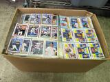 Box Full of Baseball Cards in Pages