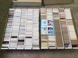 8000+ Baseball Basketball Football Cards