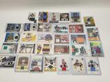 Lot of Football Jersey Cards 30 Units