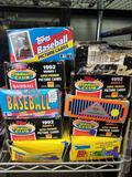 Baseball Card Boxes with Packs