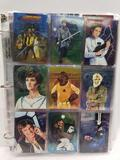 1996 Star Wars Trading Cards in Pages