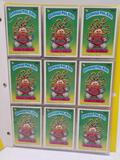 1986 Garbage Pail Kids Cards in Pages